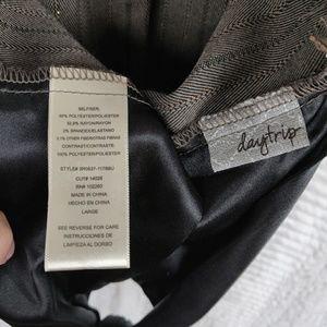Daytrip Jackets & Coats - Daytrip Brown Halter Vest Sz Large